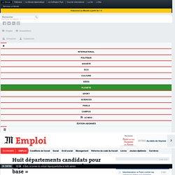 Huit départements candidats pour expérimenter un «revenu de base»