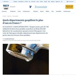 Quels départements gaspillent le plus d'eau en France?