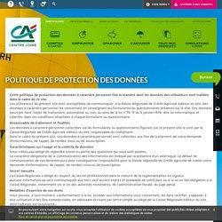 Cr dit Agricole Centre Loire (D partements du Cher, du Loiret et de la Ni vre) - Charte de l'internaute - Cr dit Agricole