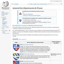 Armorial des départements de France