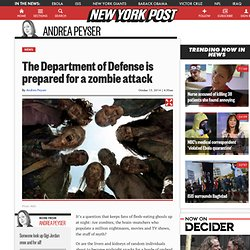 The Department of Defense is prepared for a zombie attack