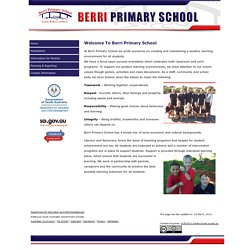 Berri Primary School - Home Page