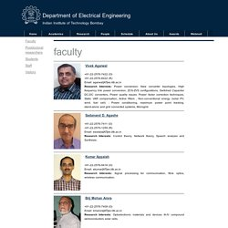Department of Electrical Engineering, Indian Institute of Technology Bombay