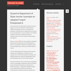Quand le Department of State montre l'exemple en adoptant l'esprit Enterprise2.0