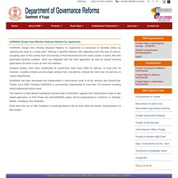 Department of Governance Reform