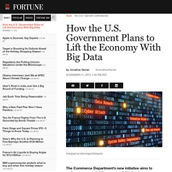 How the U.S. Government Plans to Lift the Economy With Big Data