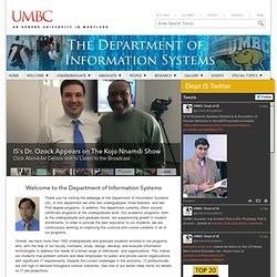 Information Systems - UMBC