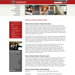 Department of Kinesiology at University of Maryland : Physical C