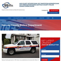 Nassau County Police Department - Civil Service Success
