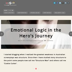 Emotional Logic in the Hero's Journey - The Story DepartmentThe Story Department