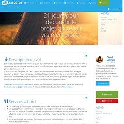 Air Detox - Departures - AD45 - 21 jours pour découvrir le projet qui te fait vraiment vibrer en détail