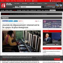 Journée du dépassement: internet est le 3e «pays» le plus énergivore