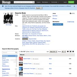 Depeche Mode Discography at Discogs