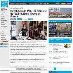 Depeche - Révolution de 1917: la mémoire de l'exil toujours vivace en France