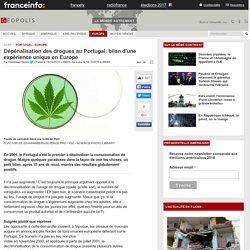 Dépénalisation des drogues au Portugal: bilan d'une expérience unique en Europe
