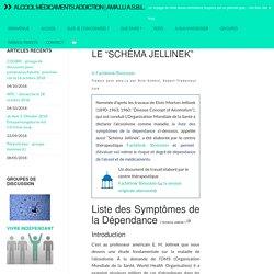 """Liste des symptômes de la dépendance : Le """"Schéma Jellinek"""" » Alcool Médicaments Addiction"""