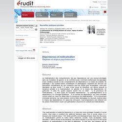 Nouvelles pratiques sociales v19 n2 2007, p.92-110