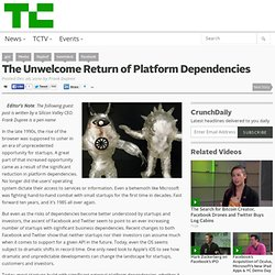 The Unwelcome Return of Platform Dependencies
