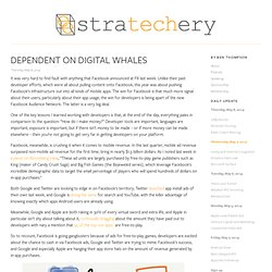 Dependent on Digital Whales
