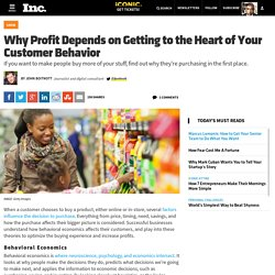 Why Profit Depends on Getting to the Heart of Your Customer Behavior