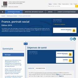 Dépenses de santé − France, portrait social