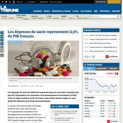 Les dépenses de santé représentent 11,6% du PIB français