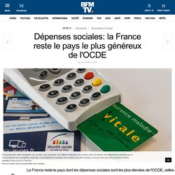 Dépenses sociales: la France reste le pays le plus généreux de l'OCDE