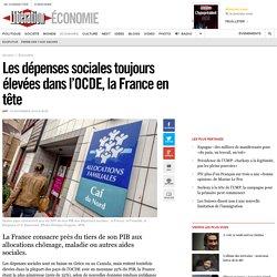 Les dépenses sociales toujours élevées dans l'OCDE, la France en tête
