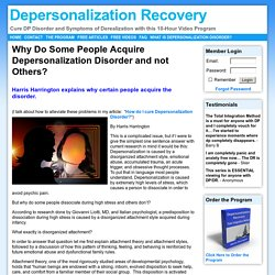 Depersonalization Recovery - Cure DP Disorder and Symptoms of Derealization with this 10-Hour Video Program