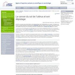 Frottis cervico-utérin et vaccination