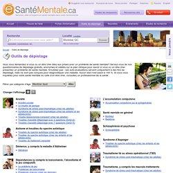 Outils de dépistages : eSanteMentale.ca