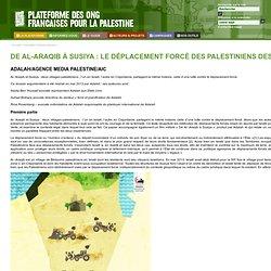 Plateforme des ONG françaises pour la Palestine
