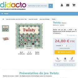 Twisty est un jeu de déplacement et de tactique, pour 2 à 4 joueurs.