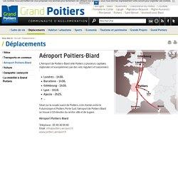 Aéroport Poitiers-Biard - Déplacements - Grand Poitiers - Communauté d'agglomération
