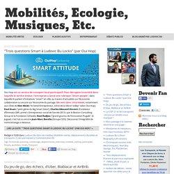 Mobilités, Ecologie, Musiques, etc.: Mobilités vertes, déplacements durables et transports
