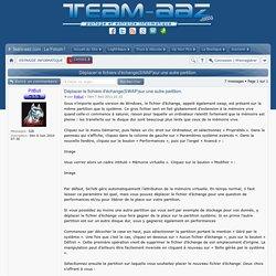 Team AAZ - Déplacer le fichiers d'échange(SWAP)sur une autre partition.