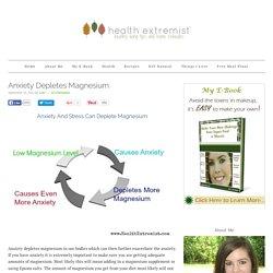 Anxiety Depletes Magnesium - Health Extremist