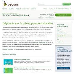 Dépliants sur le développement durable