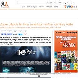 Apple déploie les livres numériques enrichis de Harry Potter