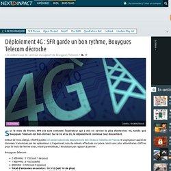 Déploiement 4G : SFR garde un bon rythme, Bouygues Telecom décroche