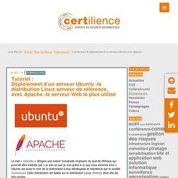 Tutoriel pour le déploiement d'un serveur Ubuntu avec Apache