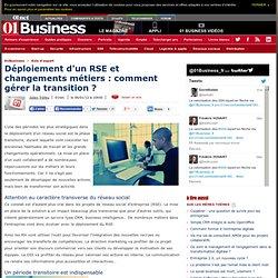 Déploiement d'un RSE et changements métiers : comment gérer la transition ?