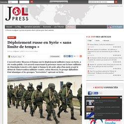 Déploiement russe en Syrie « sans limite de temps