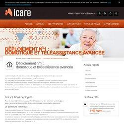 Icare : domotique et téléassistance avancée » Icare