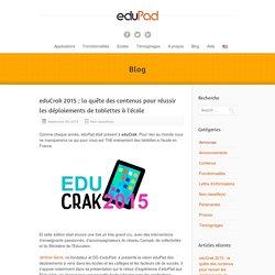 eduCrak: réussir son déploiements de tablettes à l'écoleeduPad