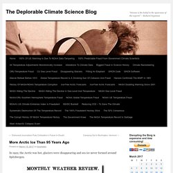 The Deplorable Climate Science Blog