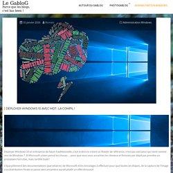 Déployer Windows 10 avec MDT : la compil ! – Le GabloG