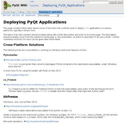 Deploying_PyQt_Applications - PyQt Wiki
