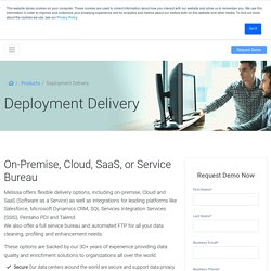 Cloud and SaaS (Software as a Service)