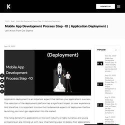 Mobile App Deployment Process